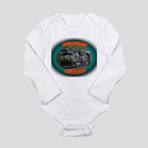 Norfolk & Southern Long Sleeve Infant Bodysuit