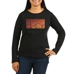 Horizon Women's Long Sleeve Dark T-Shirt
