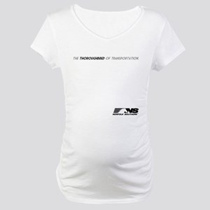 Norfolk Southern Thoroughbred Maternity T-Shirt