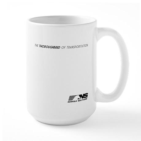Norfolk Southern Thoroughbred Large Mug