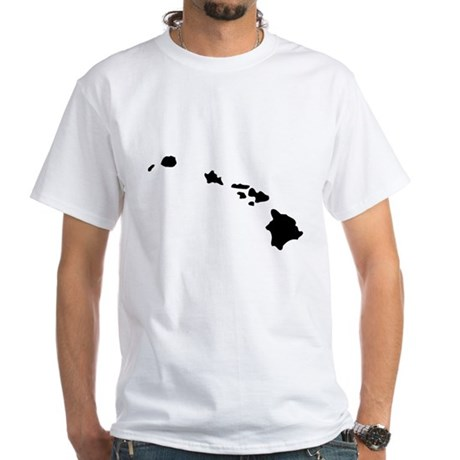 Hawaii White T-Shirt