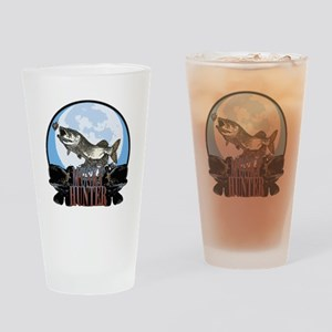 Musky hunter 7 Drinking Glass