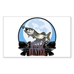 Musky hunter 7 Sticker (Rectangle 50 pk)