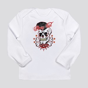 Vintage Skull Long Sleeve Infant T-Shirt