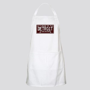made in Detroit 1969 BBQ Apron