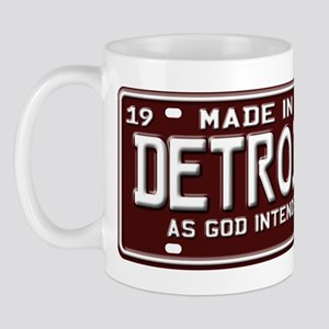made in Detroit 1969 Mug