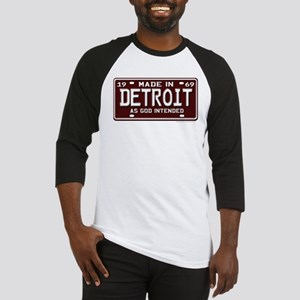 made in Detroit 1969 Baseball Jersey