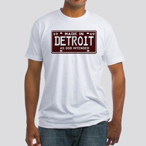 made in Detroit 1969 Fitted T-Shirt