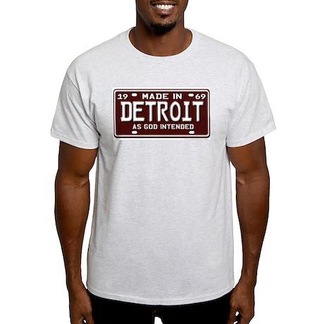 made in Detroit 1969 Ash Grey T-Shirt