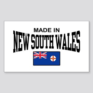 Made In New South Wales Sticker (Rectangle)