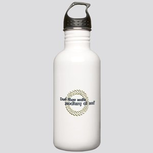 Dost thou make a mockery Stainless Water Bottle 1.