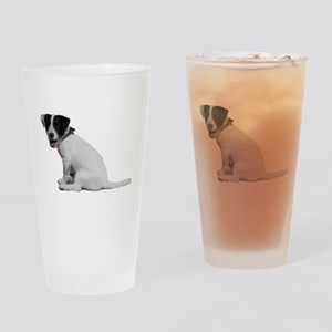 """""""Jackrussell 1"""" Drinking Glass"""