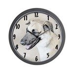 Chinook (Dropped Ears) Wall Clock