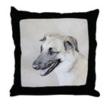 Chinook (Dropped Ears) Throw Pillow