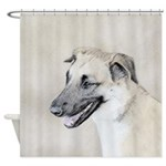 Chinook (Dropped Ears) Shower Curtain