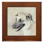 Chinook (Dropped Ears) Framed Tile