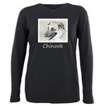 Chinook (Dropped Ears) Plus Size Long Sleeve Tee