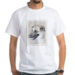 Chinook (Dropped Ears) White T-Shirt