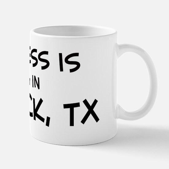 Happiness is Lubbock Mug