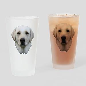 White lab 3 Drinking Glass