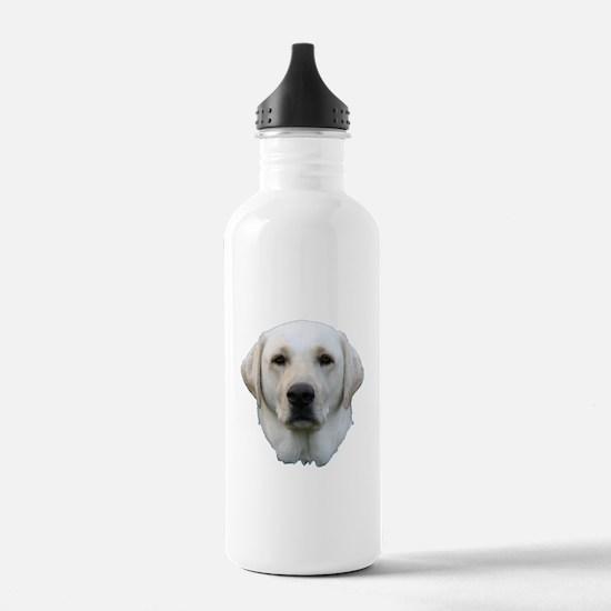 White lab 3 Water Bottle