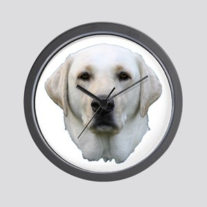 White lab 3 Wall Clock