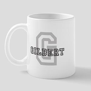 Letter G: Gilbert Mug