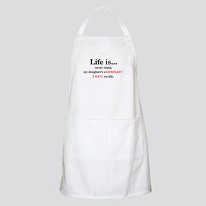 Daughter's a Gymnast BBQ Apron