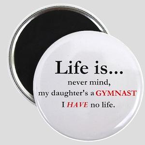 Daughter's a Gymnast Magnet