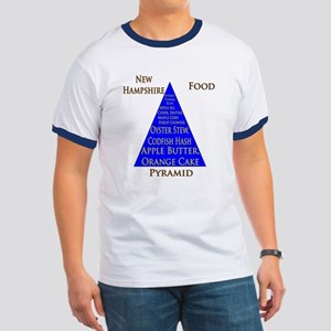 New Hampshire Food Pyramid Ringer T