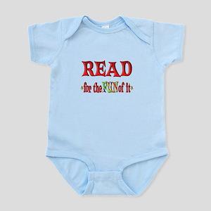 Reading Fun Infant Bodysuit