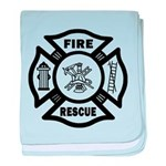 Fire Rescue baby blanket
