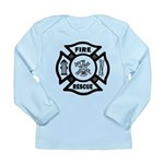 Fire Rescue Long Sleeve Infant T-Shirt