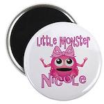 Little Monster Nicole Magnet