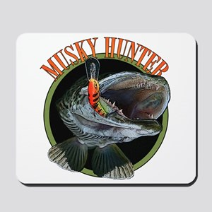 Musky hunter 8 Mousepad