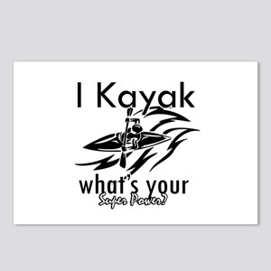 I kayak what's your superpower? Postcards (Package
