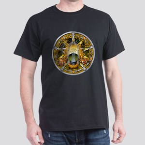 Samhain Pentacle Dark T-Shirt