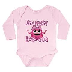 Little Monster Rebecca Long Sleeve Infant Bodysuit