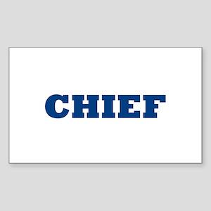 Chief Sticker (Rectangle)