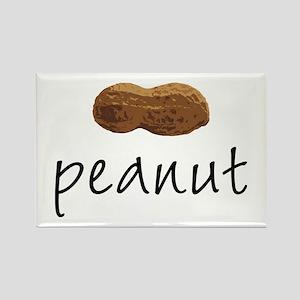 Peanut Rectangle Magnet
