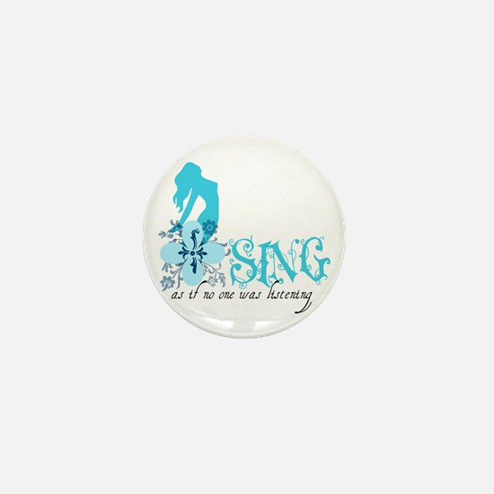 Sing Mini Button