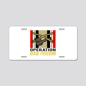 Cavalry Stinger OIF Aluminum License Plate