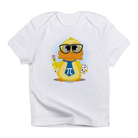 Math Teacher Duck Infant T-Shirt