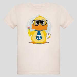 Math Teacher Duck Organic Kids T-Shirt