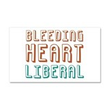 "Bleeding heart liberal 12"" x 20"""