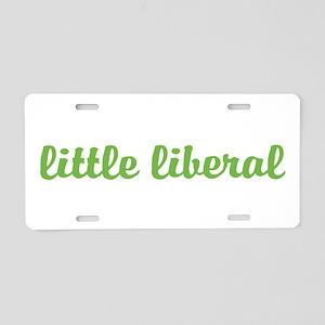 Little Liberal Aluminum License Plate