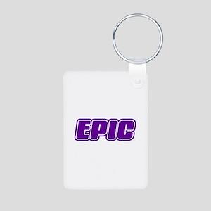 Epic Aluminum Photo Keychain