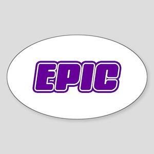 Epic Sticker (Oval)
