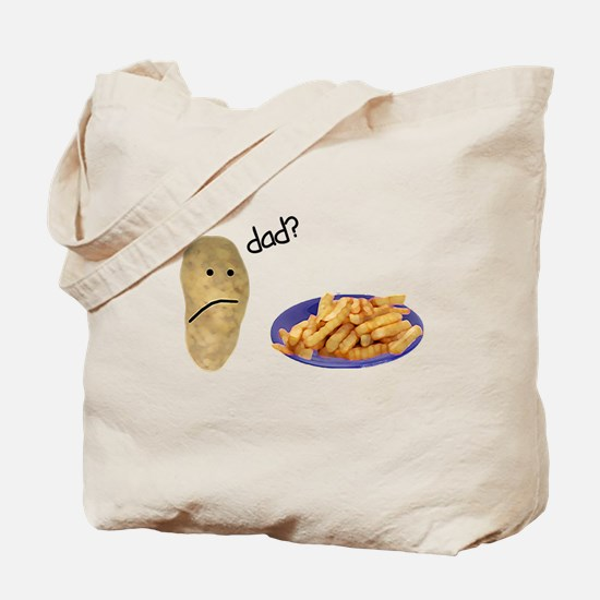 Potato French Fries Dad Tote Bag