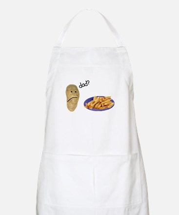 Potato French Fries Dad Apron